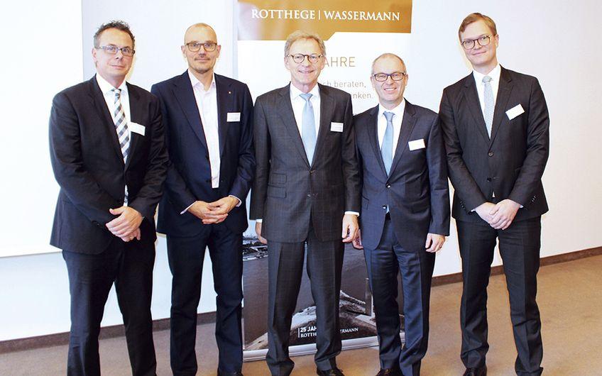 ROTTHEGE I WASSERMANN: Rückblick auf das ROTTHEGE I WASSERMANN Business Breakfast mit Professor Dr. Markus Thomzik