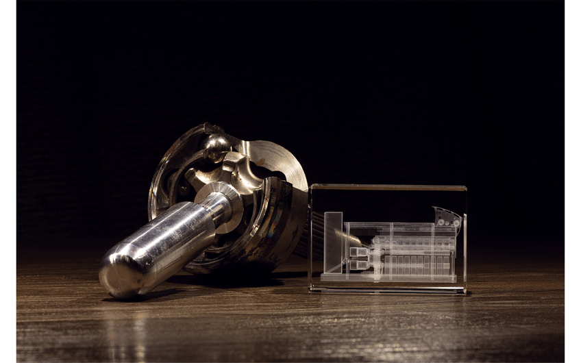 Innovationen im Bereich Maschinenbau und Textiltechnik (Kugelgleichlaufgelenk, Spinnmaschine) (Foto: Wort & Lichtbild)