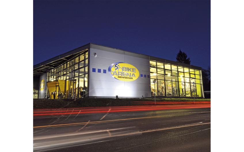 Auch für den regelmäßigen Kundendienst eine gute Adresse: Die Bike Arena Benneker in Hiddenhausen