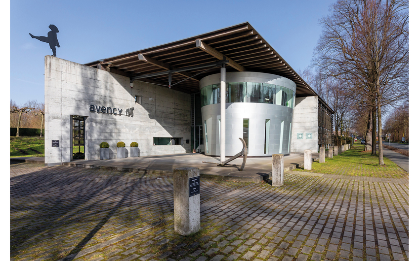 Sitz der avency GmbH an der Telgter Straße in Ostbevern (© Bernd Oberheim)