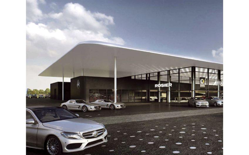 Autohaus Heinrich Rosier: Automobile Erlebniswelt