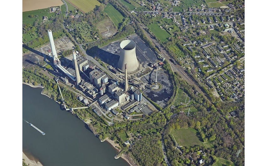 ehemaliges Steag-Kraftwerk in Voerde