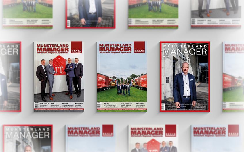 Die Cover im Vergleich; von links: 2017, 2018 und 2021 (© freemockupzone.com)