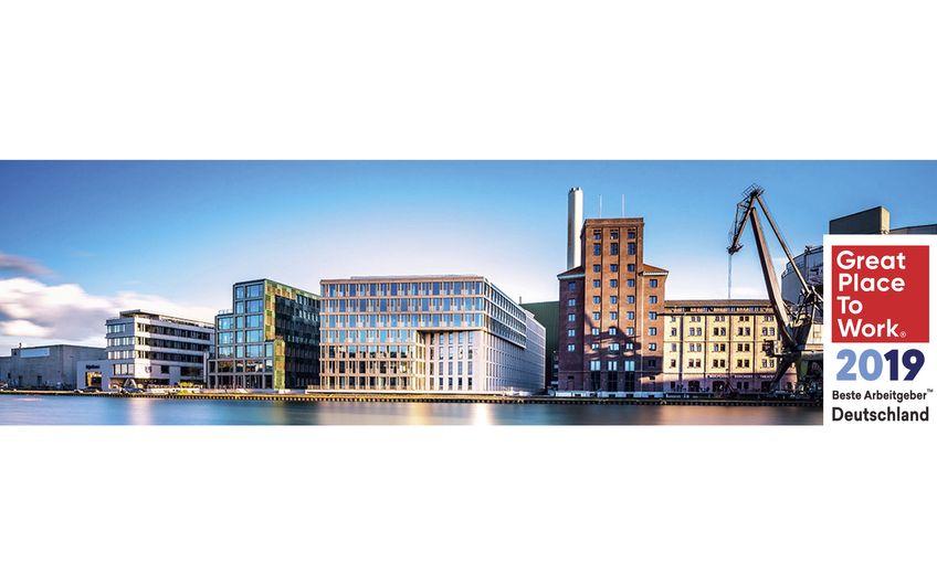 Der Hauptsitz von Curacon: Am Mittelhafen 14 in Münster (Foto: Thomas Mohn)