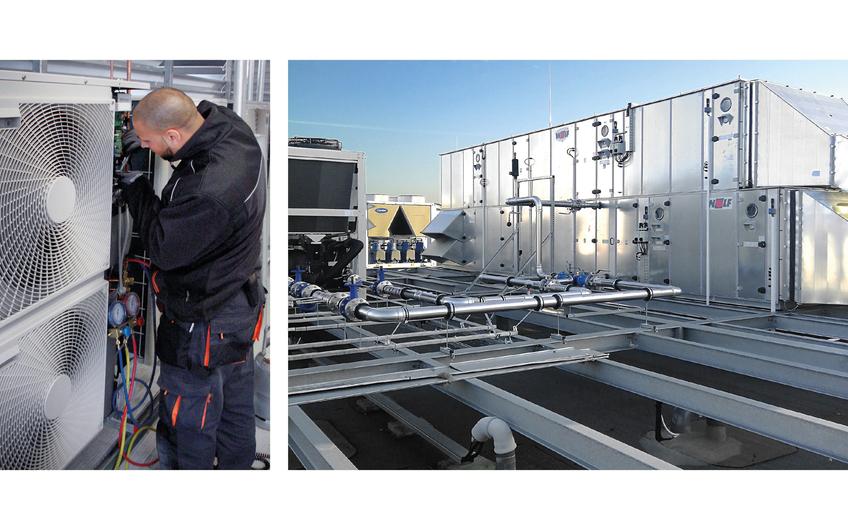 Die Brion GmbH & Co. KG erstellt für ihre Kunden eine maßgeschneiderte Kombination von Lösungen aus der Klimatechnik, der Kältetechnik und der Lüftungstechnik