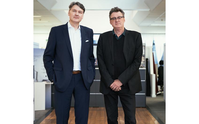Die Kohlsmann Bürobedarf GmbH wird geleitet von den Brüdern Sven und Thorsten Kohlsmann (v.l.)