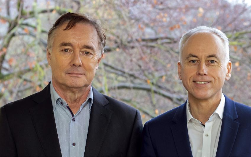 Geschäftsführung Herr Norbert Kopp und Herr Ingo Beckmann (v.l.)