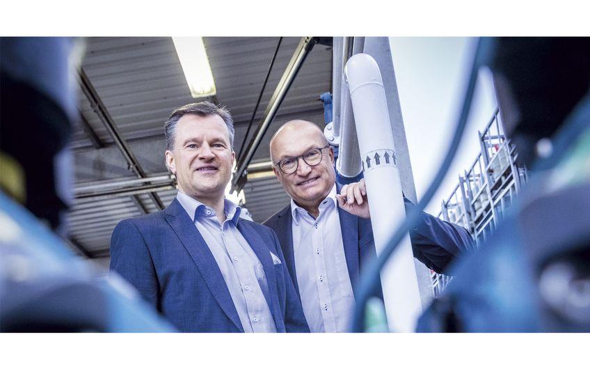 Geschäftsführer Oliver Höring  und Prokurist Wilhelm Müllenbach (Foto:  Christoph & Thomas Meinschäfer)