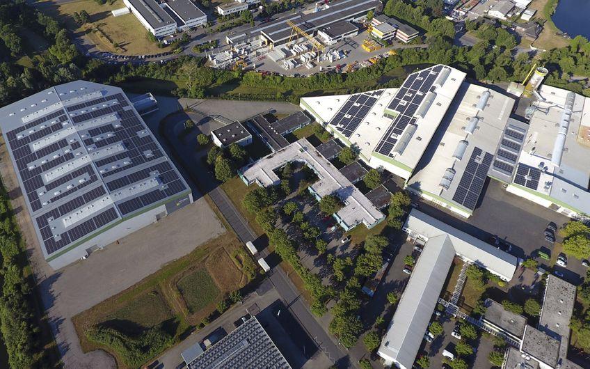 Die Winkels Interior Design Exhibition GmbH in Kleve hat bereits zwei Solaranlagen mit B&W Energy realisiert und betreibt heute rund 1,2 MWp Photovoltaik