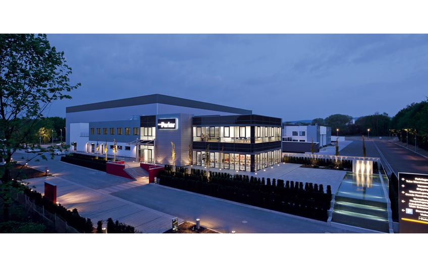 Parker Hannifin Distributionszentrum Europa Nord in Bielefeld