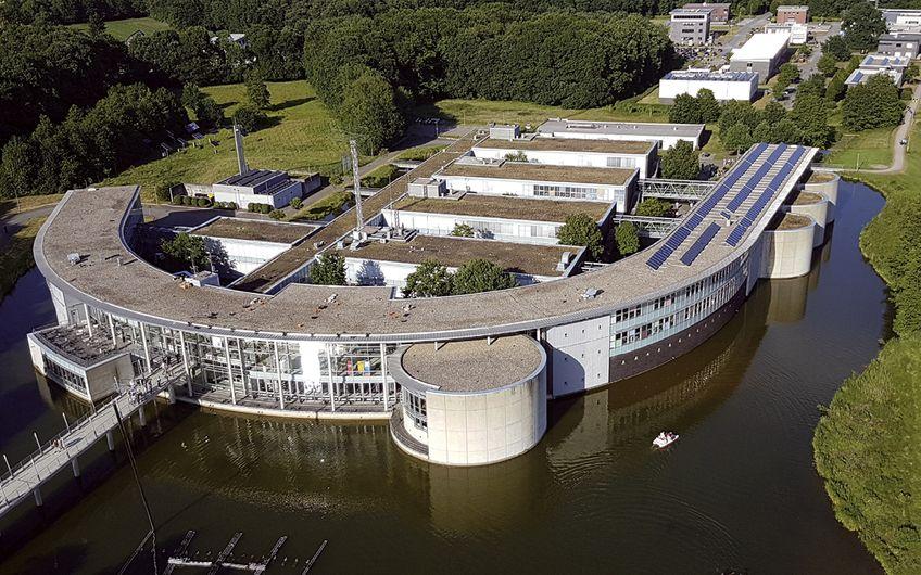 Selbst studieren lässt es sich in Bocholt an der Westfälischen Hochschule im Grünen  (Foto: ©Wirtschaftsförderung Bocholt)