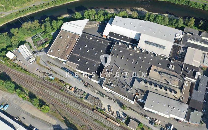 Wirtschaft im Wandel der Zeit: In der aktuellen Vermarktung befindet sich die GF Alugießerei, Standort Werdohl.