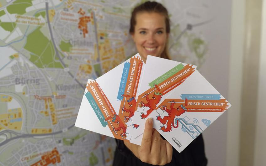 Patrizia Emgenbroich (Marketing, Wirtschaftsförderung Leverkusen)