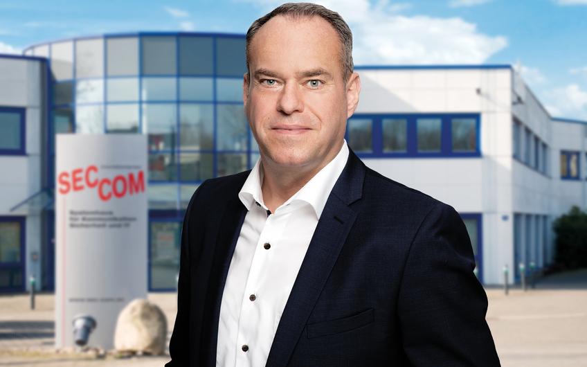 Guido Otterbein, Geschäftsführer und Inhaber von SEC-COM