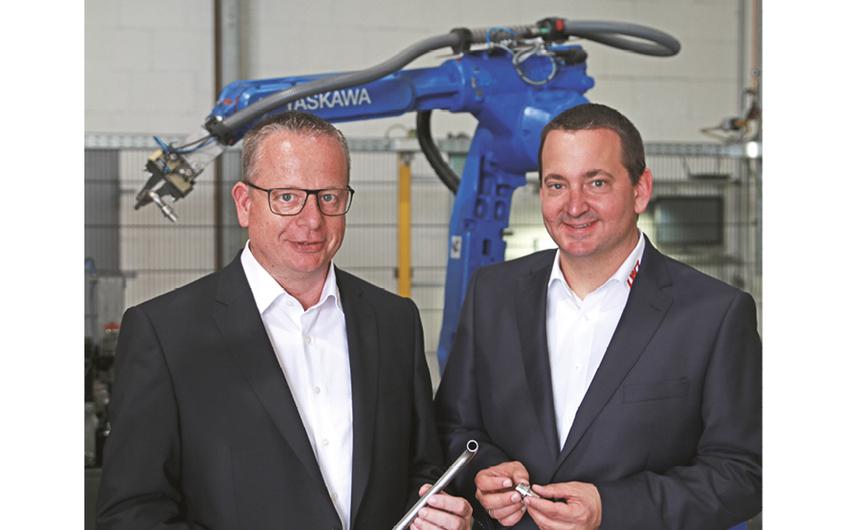 Geschäftsführer Ralf Schmetz und Holger Rodegra (v.l.)