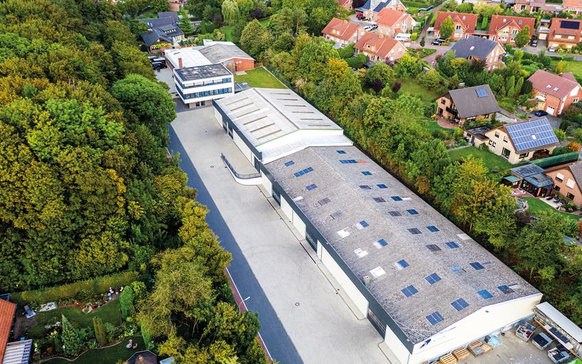 Luftaufnahme Heinz Hiller GmbH Schöppingen