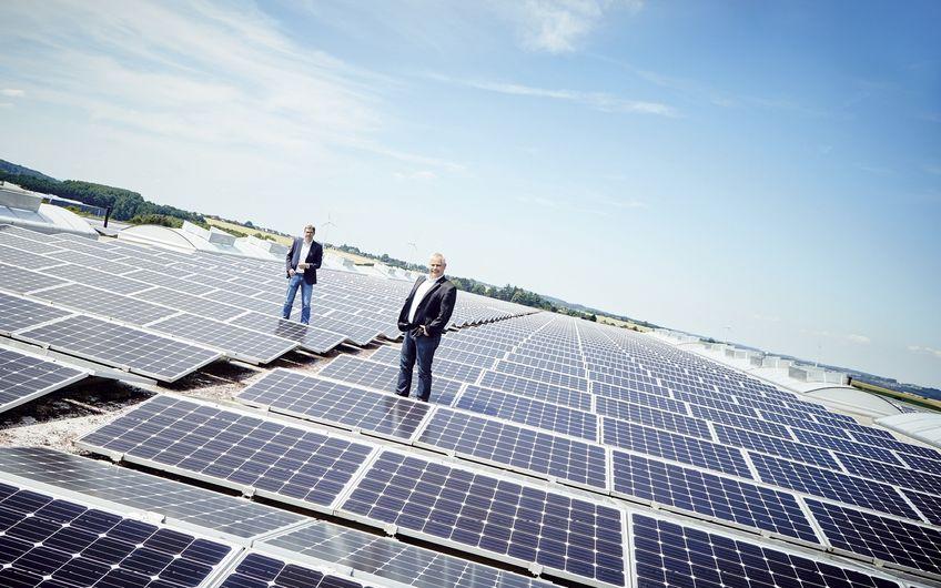 Entegro: Mehr Platz für Sonnenenergie