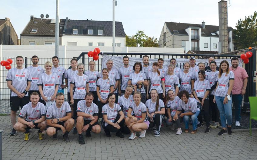 Rechenzentrum Hartmann: Erster RZH-Run in Mönchengladbach
