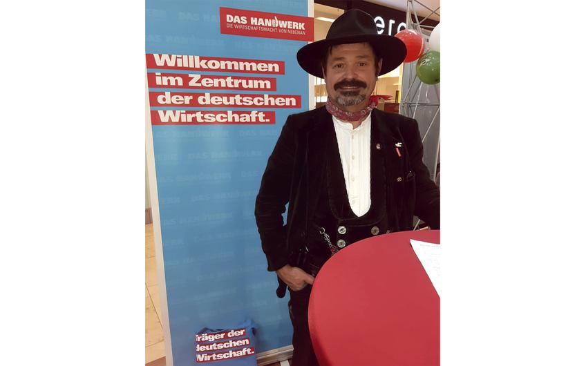 Johannes Schmitz ist Vorsitzender des Zimmerer- und Holzbau-Verbandes Nordrhein