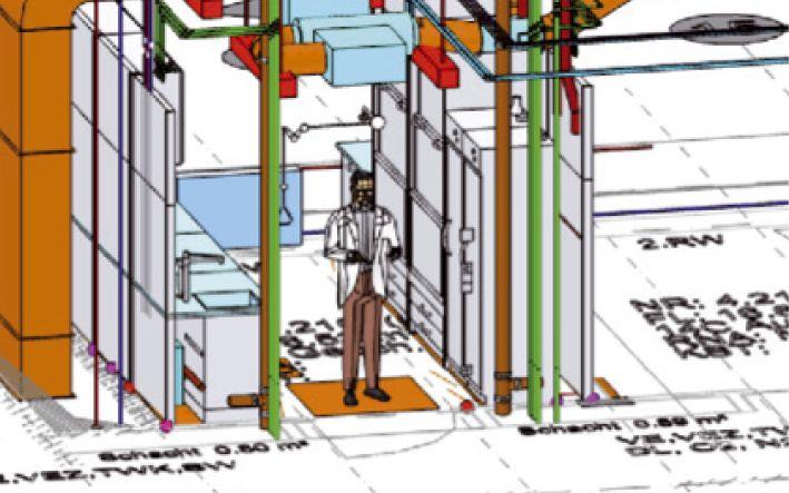 Durchgehendes Planungssystem über alle  Leistungsphasen, BIM-fähig