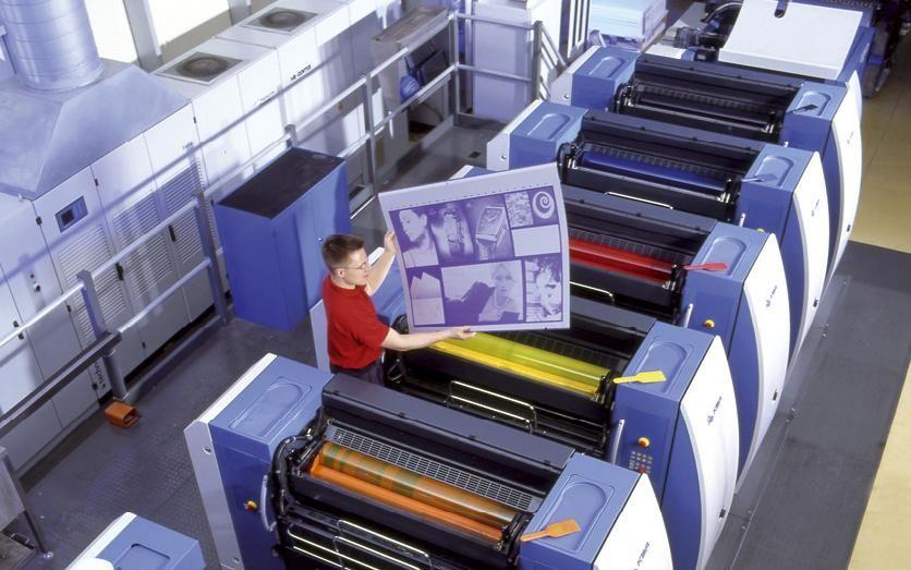 Die größten Druckereien in NRW