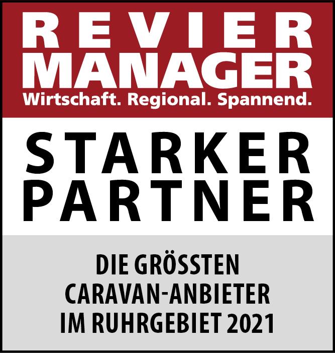 Siegel: STARKER PARTNER - Die größten Caravan-Anbieter im Ruhrgebiet