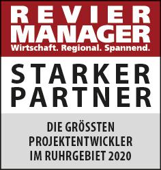 Siegel: STARKER PARTNER - Die größten Projektentwickler im Revier