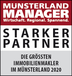 Siegel: STARKER PARTNER - Die größten Immobilienmakler im Münsterland