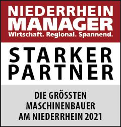 Siegel: STARKER PARTNER - Die größten Maschinenbauer am Niederrhein