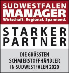 Siegel: STARKER PARTNER - Die größten Schmierstoffhändler in Südwestfalen
