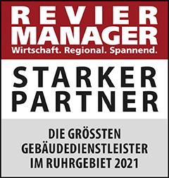 Siegel: STARKER PARTNER - Die größten Gebäudedienstleister im Ruhrgebiet