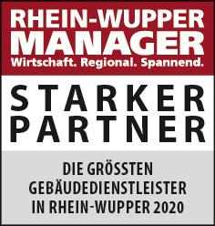 Siegel: STARKER PARTNER - Die größten Anbieter von Gebäudeautomation in Rhein-Wupper