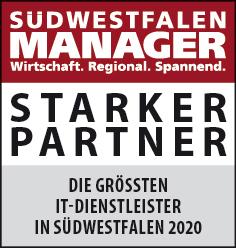 Siegel: STARKER PARTNER - Die größten IT-Dienstleister in Südwestfalen
