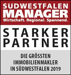 Siegel: STARKER PARTNER - Die größten Immobilienmakler in Südwestfalen