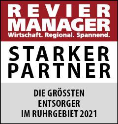 Siegel: STARKER PARTNER - Die größten Entsorger im Ruhrgebiet