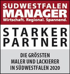 Siegel: STARKER PARTNER - Die größten Maler und Lackierer in Südwestfalen