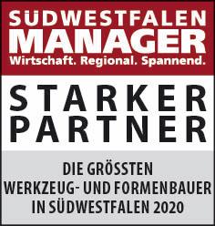 Siegel: STARKER PARTNER - Die größten Werkzeug- und Formenbauer in Südwestfalen