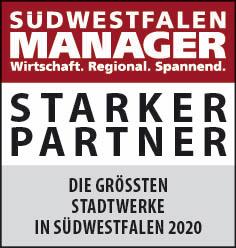 Siegel: STARKER PARTNER - Die größten Stadtwerke in Südwestfalen