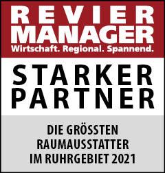 Siegel: STARKER PARTNER - Die größten Raumausstatter im Ruhrgebiet