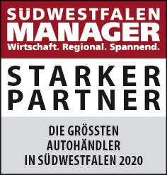 Siegel: STARKER PARTNER - Die größten Autohändler in Südwestfalen