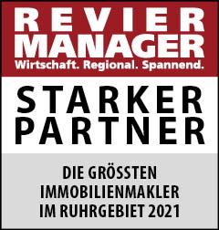 Siegel: STARKER PARTNER - Die größten Immobilienmakler im Ruhrgebiet