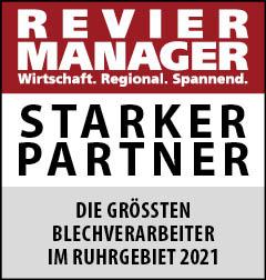 Siegel: STARKER PARTNER - Die größten Blechverarbeiter im Ruhrgebiet