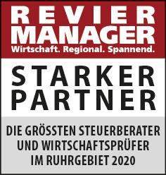 Siegel: STARKER PARTNER - Die größten Steuerberater und Wirtschaftsprüfer im Ruhrgebiet