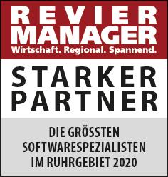 Siegel: STARKER PARTNER - Die größten Softwarespezialisten im Ruhrgebiet