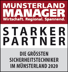 Siegel: STARKER PARTNER - Die größten Sicherheitstechniker im Münsterland