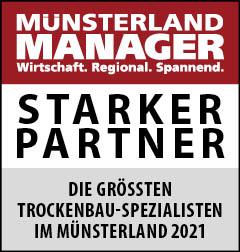 Siegel: STARKER PARTNER - Die größten Trockenbau-Spezialisten im Münsterland