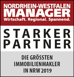 Siegel: STARKER PARTNER - Die größten Immobilienmakler in NRW