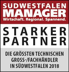 Siegel: STARKER PARTNER - Die größten technischen Großhändler in Südwestfalen