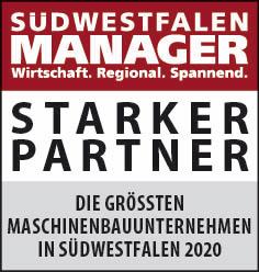 Siegel: STARKER PARTNER - Die größten Maschinen- und Anlagenbauer in Südwestfalen