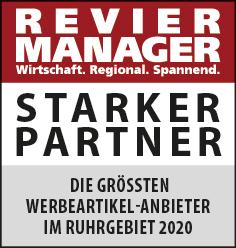Siegel: STARKER PARTNER - Die größten Werbeartikelhändler im Ruhrgebiet
